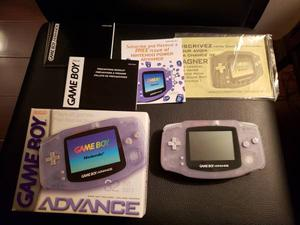 Nintendo Game Boy Advance Console in Box with Paperwork