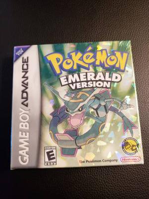Pokemon: Emerald Version Nintendo Game Boy Advance Brand New