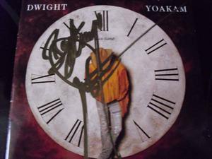 Signed Dwight Yoakam CD
