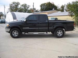 Toyota Tundra Black Truck