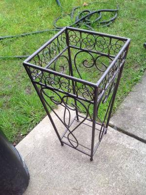 Wrought Iron Plant Stand / Flower Decoration/Plant Stand