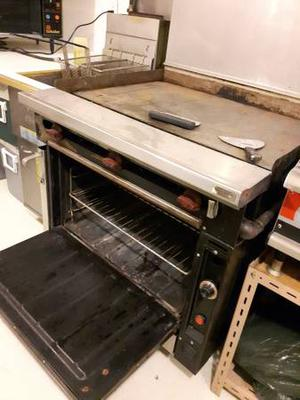 Gas Oven with Grill Top