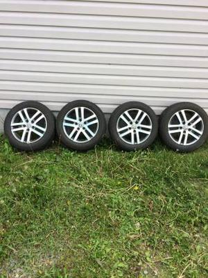 VW Jetta michelin tires and rims