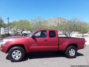 2OO5 Toyota Tacoma Red