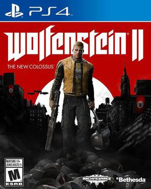 BRAND NEW SEALED Wolfenstein 2: The New Colossus Playstation