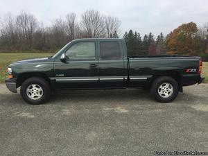 Chevrolet Silverado  Green