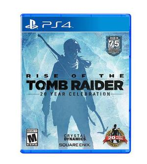 PS4 RISE OF THE TOMB RAIDER BRAND NEW SEALED