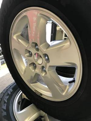 Jeep cherokee wheels with m&s tires