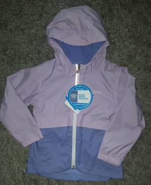 New with tags Columbia size 4 toddler rain jacket