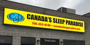 CANADA'S SLEEP PARADISE MATTRESS AND FURNITURE STORE IN