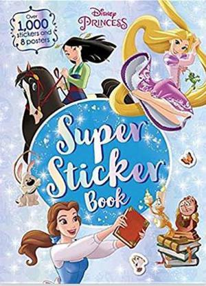 Disney Princess Super Sticker Book