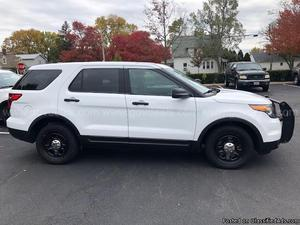 Ford Explorer Police 4WD