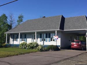 Maison à vendre Dégelis avec ou sans son immense garage