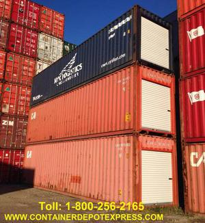 New & Used Steel Shipping Containers / Storage Containers