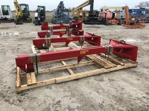 Wood Splitter Skid Steer Mount, Different Sizes Available