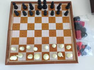 3 in 1 Games, Chess, Checkers, Backgammon, Magnetic Pieces
