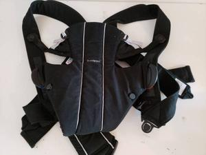 BABY BJORN BABY CARRIER WITH BACK SUPPORT, COLOR BLACK