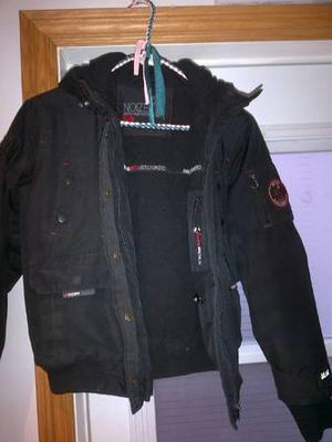 BLACK BOYS KIDS NOIZE AND RED GIRLS NORDIC WINTER JACKET