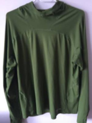 CHLOROPHYLLE LONG SLEEVE AND HOODED MENS OUTWEAR TOP