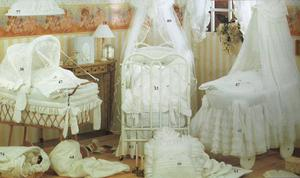 Ens. de literie Carrie (4 mcx) - Baby Crib Bedding (4 pcs)