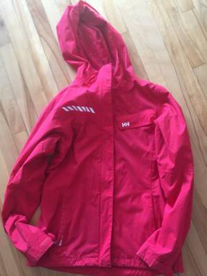 Helly Hansen RED Women's Outer Shell Hooded Jacket