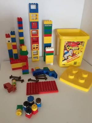 NICE COLLECTION OF LEGO DUPLO WITH LARGE CAPACITY BIN
