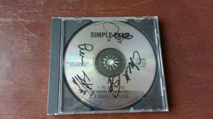 Simple Plan- signed by all 4 members -1st promo demo-