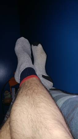 31 year old hot guys sweaty socks. With or without a load of