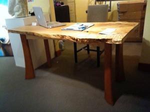 Fine Maple & Cherry Wood Desk