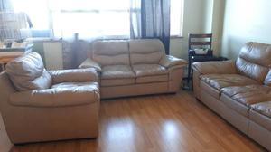 Leather Sofa Set $700 obo
