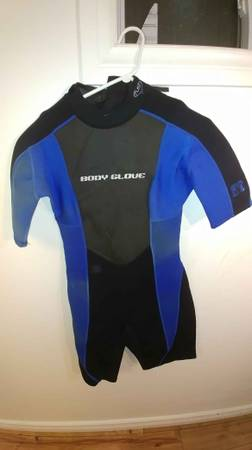 Multiple Sport Items: Wetsuits, Ski Boots, Soccer Shoes