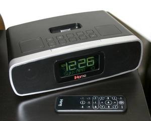 iHome iP90 Dual Alarm Clock Radio for iPhone/iPod