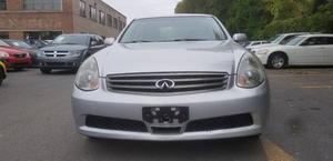INFINITI G35 Sedan Luxury