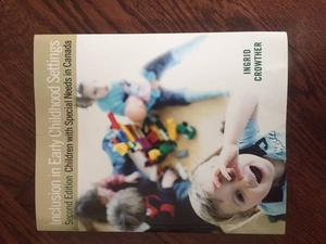 Inclusion in Early Childhood Settings