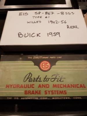 Vintage EIS rear brake hose  Buick