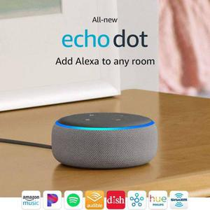 Amazon Echo Dot (3rd Gen) - Smart speaker with Alexa - Gray