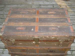 Antique Steamer Trunk from the s