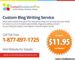 Blog Content Service   Monthly Blog Writing Services