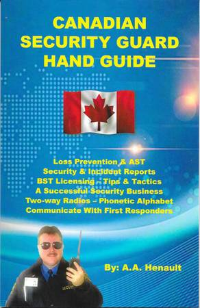 Canadian Security Guard Hand Guide