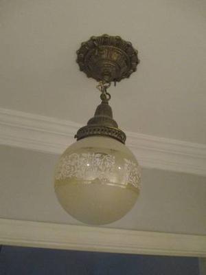 Small Antique Ceiling Light Fixture