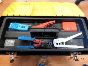 """TELEPHONE INSTALLER QUALITY TOOLS KIT C/W 26"""" STANLEY STAND"""
