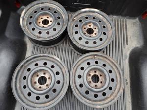 """16"""" Steel Wheels with 6 x  Wheel Bolt Pattern"""