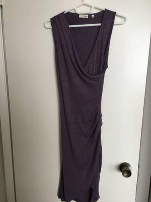 Aritzia Wilfred Free Izidora dress size small Mauvish