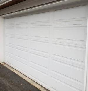 Double car garage door for sale Insulated!