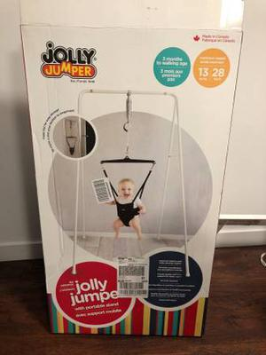 Jolly Jumper with stand - Brand New Condition