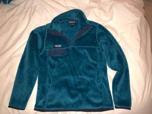 Patagonia snap-t pullover turquoise (S)