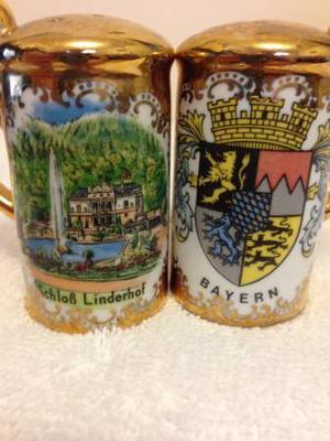 German Salt & Pepper Shakers