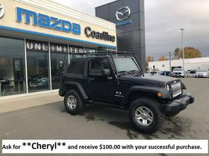 Jeep Wrangler X- 4X4 - contact Cheryl Bourget
