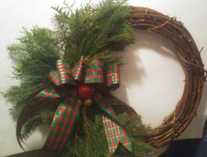 Handmade Christmas Wreaths 19""