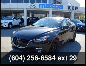 Mazda Mazda3 GT, TECH PACKAGE